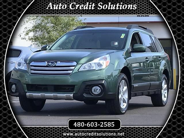 2014 Subaru Outback Recent ArrivalThis Cypress Green Pearl 2014 Subaru Outback Limited AWD 4D Sport