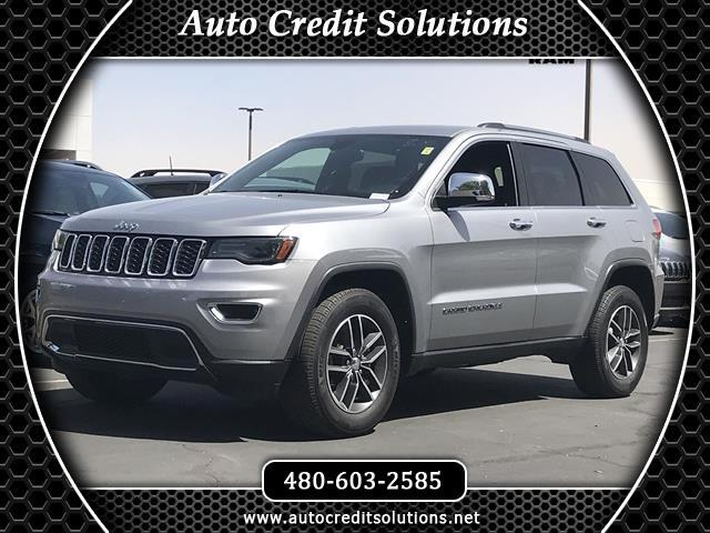2017 Jeep Grand Cherokee Recent Arrivalbillet silver metallic clearcoat 2017 Jeep Grand Cherokee 4