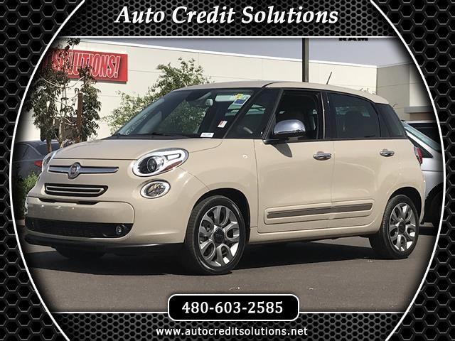 2014 Fiat 500L Recent ArrivalMocha Latte 2014 Fiat 500L FWD 4D Hatchback includes - hill start assi