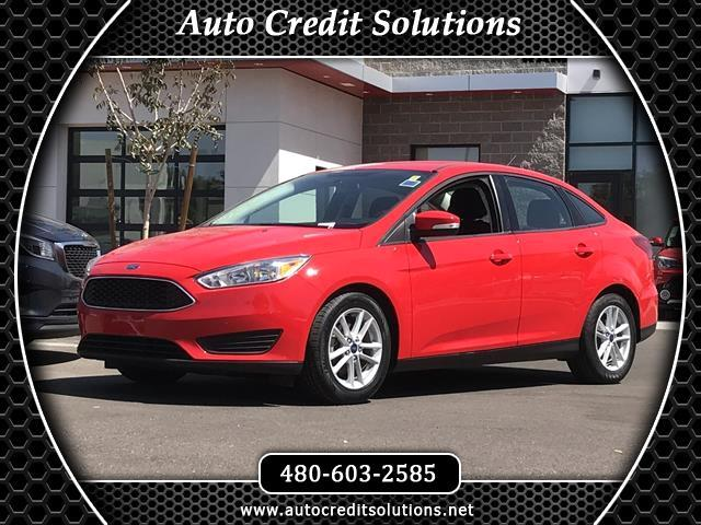 2017 Ford Focus Recent ArrivalThis Red 2017 Ford Focus FWD 4D Sedan includes hill start assist tra