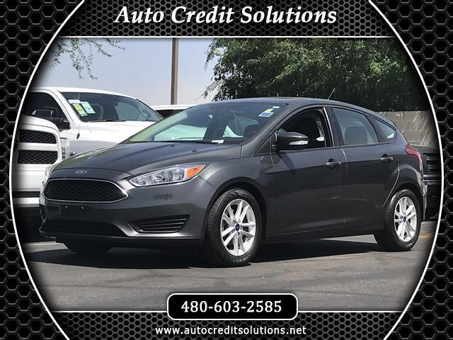 2016 Ford Focus Recent ArrivalThis Gray 2016 Ford Focus FWD 4D Hatchback includes traction control