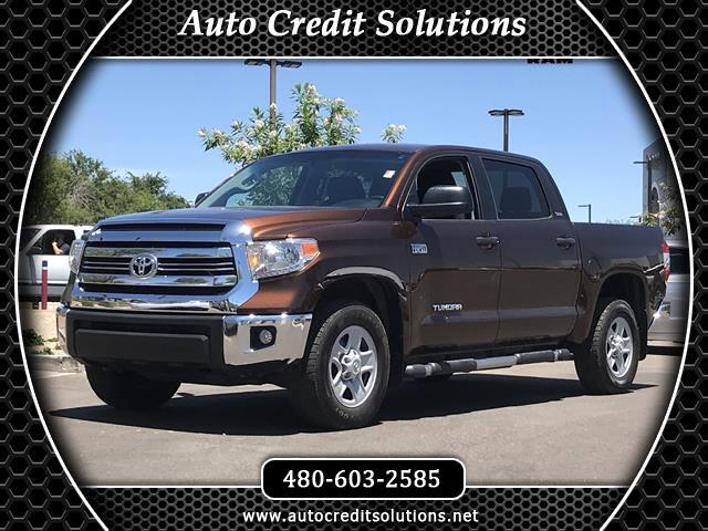 2016 Toyota Tundra Recent ArrivalThis Sunset Bronze Mica 2016 Toyota Tundra 4WD 4D CrewMax include