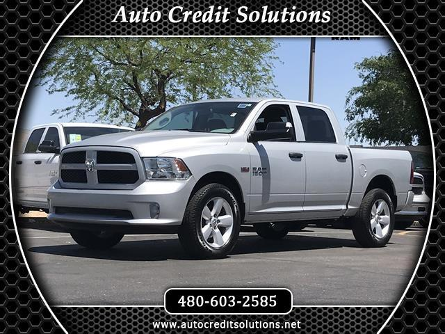 2016 RAM 1500 Recent ArrivalBright Silver Clearcoat Metallic 2016 Ram 1500 4WD 4D Crew Cab includes