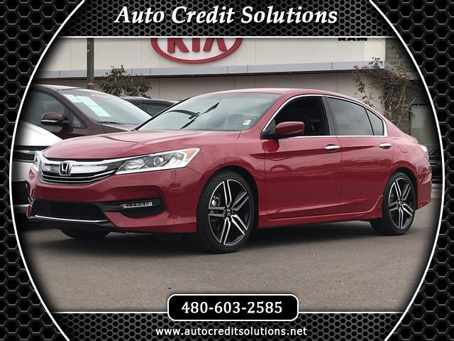 2016 Honda Accord Recent ArrivalThis Red 2016 Honda Accord FWD 4D Sedan includes -- hill start ass