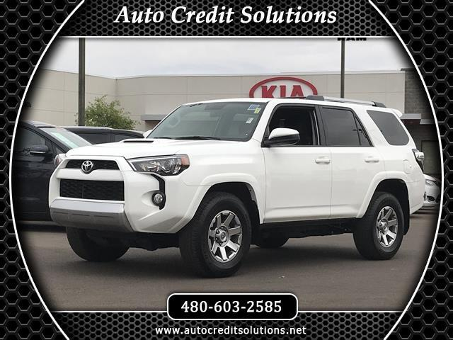 2016 Toyota 4Runner Recent ArrivalWhite 2016 Toyota 4Runner 4WD 4D Sport Utility includes -- a pow
