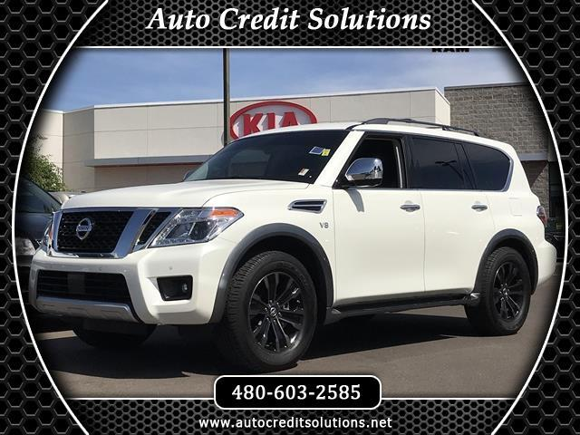 2017 Nissan Armada Recent ArrivalThis Pearl White 2017 Nissan Armada RWD 4D Sport Utility includes