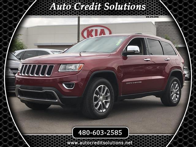 2014 Jeep Grand Cherokee Recent ArrivalThis Deep Cherry Red Crystal 2014 Jeep Grand Cherokee 4WD 4D