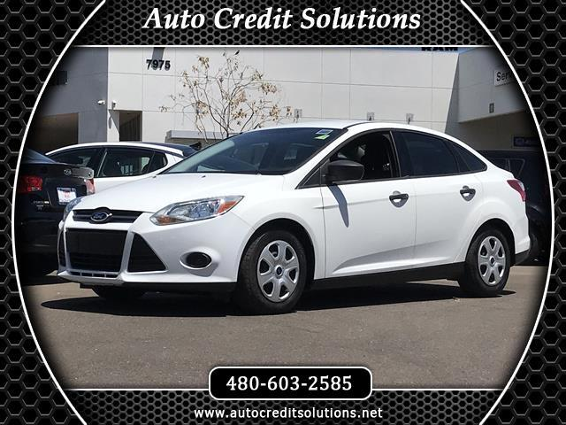 2012 Ford Focus Recent ArrivalThis White 2012 Ford Focus FWD 4D Sedan includes - traction control