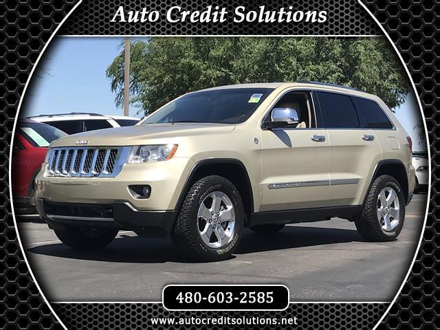 2012 Jeep Grand Cherokee Recent ArrivalThis White Gold 2012 Jeep Grand Cherokee 4WD 4D Sport Utilit