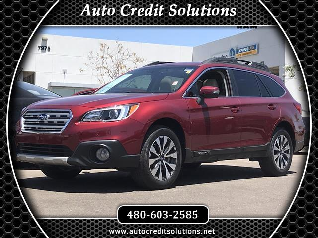 2016 Subaru Outback Recent ArrivalThis 2016 Subaru Outback 25i limited 4D sport utility vehicle in