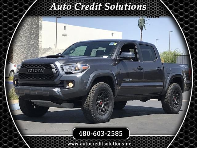2017 Toyota Tacoma Recent ArrivalThis Magnetic Gray Metallic 2017 Toyota Tacoma 4WD 4D Double Cab