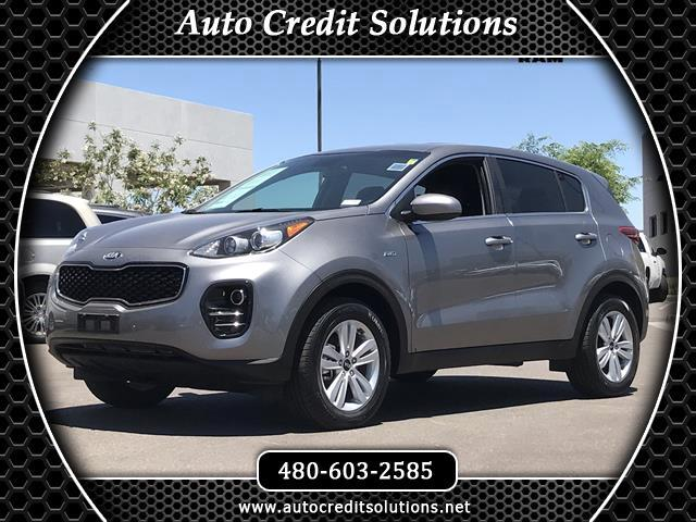 2018 Kia Sportage This 2018 Kia Sportage LX AWD is CERITIFED and has a clean one-owner CarfaxFeatu