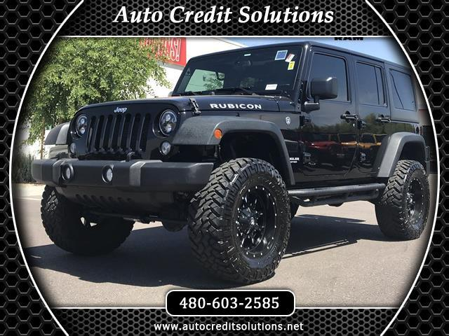 2016 Jeep Wrangler Ready for and Adventure This 2016 Jeep Wrangler Rubicon is ready that has Clean
