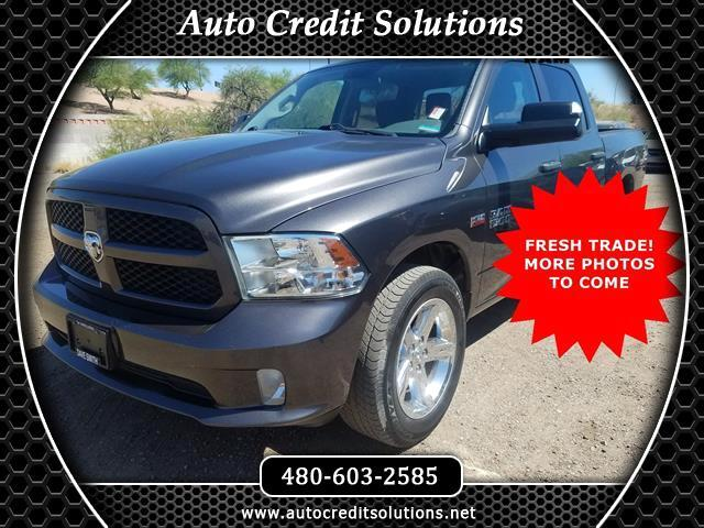 2014 RAM 1500 Here is a Clean 2014 Ram 1500 Crew Cab With 4 Wheel DriveClean CARFAX One-OwnerFeatur