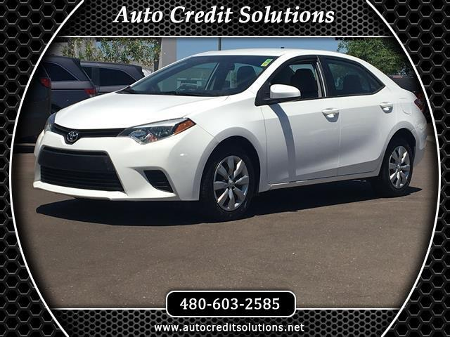 2014 Toyota Corolla This 2014 Toyota Corolla LE has a Clean CARFAX Odometer is 9907 miles below ma