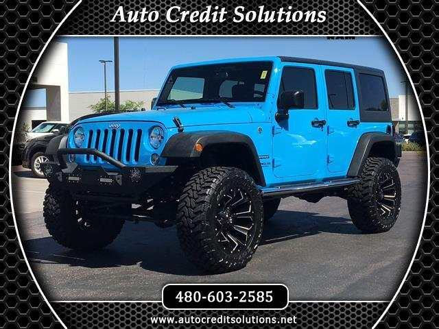 2017 Jeep Wrangler ILIFTED CUSTOME WHEELS AND TIRES This 2017 Jeep Wrangler in Chief Clearcoat wi