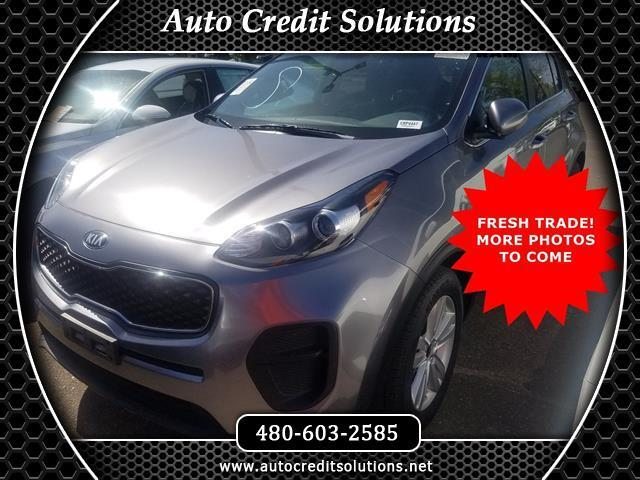 2017 Kia Sportage CERTIFIED CLEAN ONE-OWNER CARFAX This 2017 Kia Sportage LX Odometer is 10177 mi