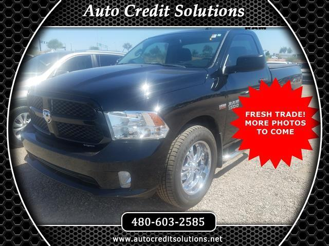 2013 RAM 1500 Black Clearcoat 2013 Ram 1500 RWD 2D Standard Cab Odometer is 20237 miles below marke