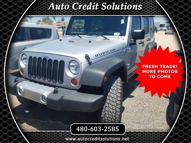 2008 Jeep Wrangler LOW MILES This 2008 Jeep Wrangler Unlimited Rubicon 4WD has a Clean CARFAX Odo