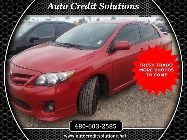 2013 Toyota Corolla Nicely Equipped 2013 Toyota Corolla S has a few nice features like a 18L I4 DO