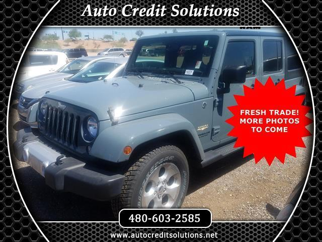 2014 Jeep Wrangler Recent ArrivalAnvil Clear Coat 2014 Jeep Wrangler 4WD 4D Sport UtilityCARFAX On