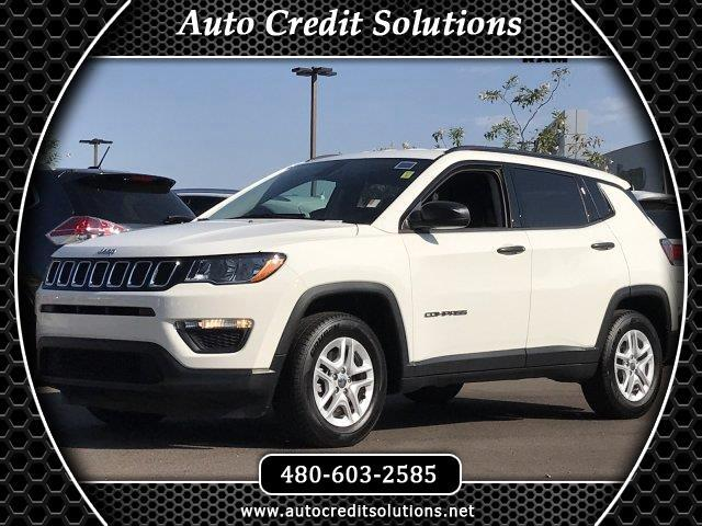2017 Jeep Compass This 2017 Jeep New Compass Sport series includes 6 speakers AC a rear window def