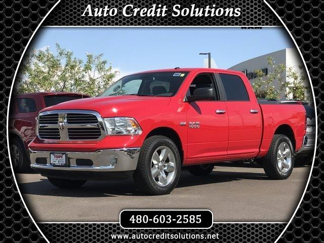 2015 RAM 1500 This 2015 Ram 1500 Crew Cab Big Horn Pickup truck includes electronic stability contr