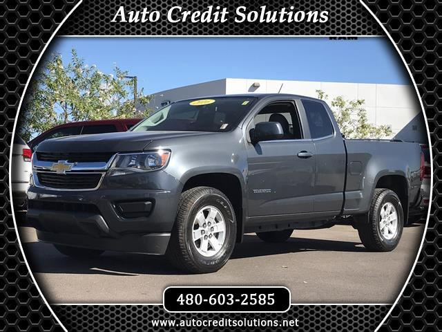 2016 Chevrolet Colorado This 2016 Chevy Colorado Extended Cab Work Truck Pickup which is a 2D inclu