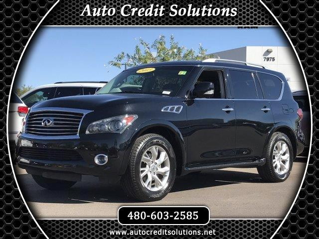 2013 Infiniti QX56 This 2013 Infiniti QX56 base series includes - a power liftgate release hill sta