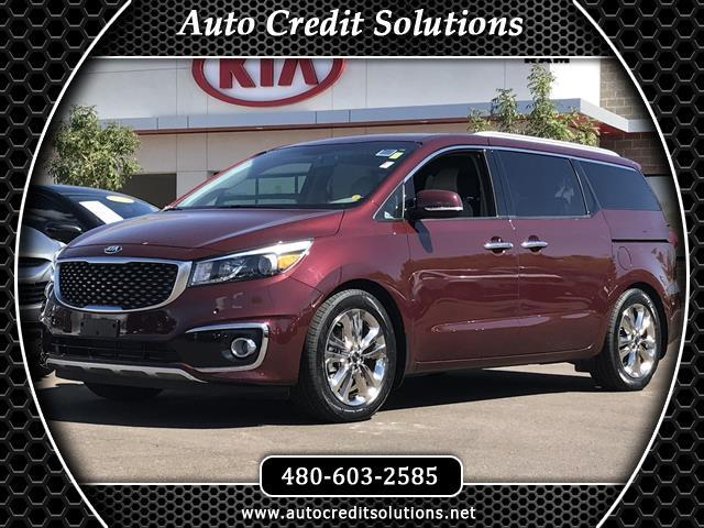 2015 Kia Sedona This 2015 Kia Sedona SXL series includes - blind - spot detection technology packag