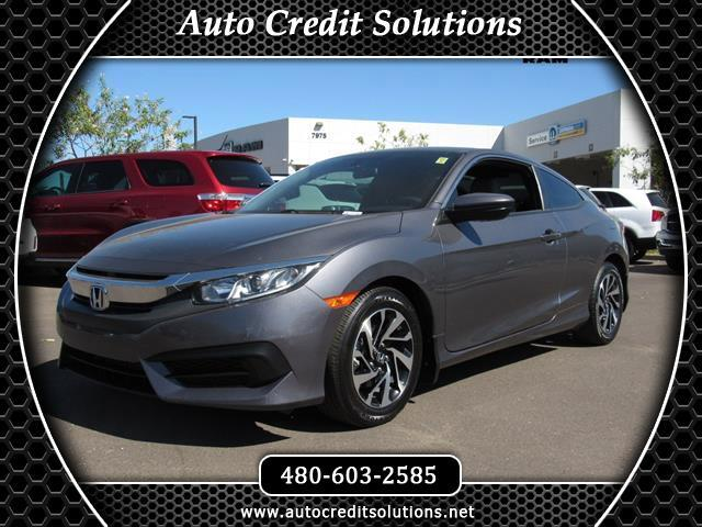 2016 Honda Civic This 2016 Honda Civic LX-P Coupe 2D series includes - a power trunk release hill s