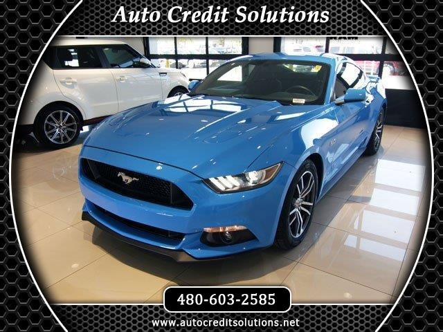 2017 Ford Mustang New PriceGrabber Blue 2017 Ford Mustang RWD 2D CoupeCARFAX One-Owner Clean CARF