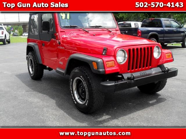 used 1997 jeep wrangler se for sale in georgetown ky 40324 top gun auto sales. Black Bedroom Furniture Sets. Home Design Ideas