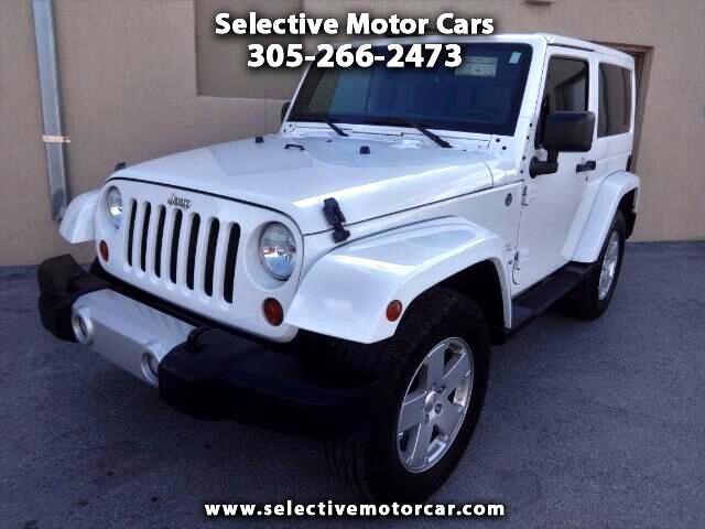 2012 Jeep Wrangler Sahara 4WD