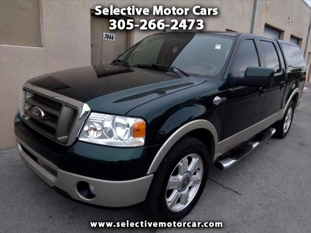 """2008 Ford F-150 2WD SuperCrew 139"""" King Ranch"""