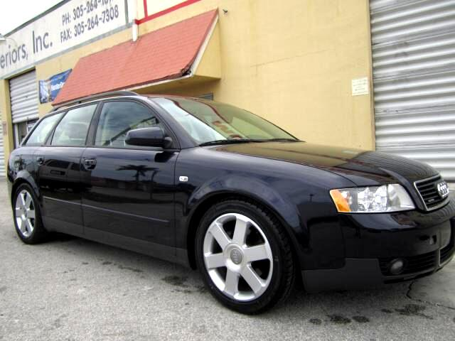2003 Audi A4 Avant 1 8t Quattro With Tiptronic