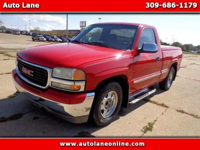 2002 GMC Sierra 1500 SL Short Bed 2WD