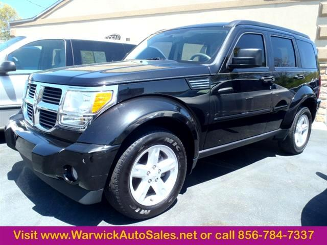 used 2008 dodge nitro 4wd 4dr sxt for sale in magnolia nj. Black Bedroom Furniture Sets. Home Design Ideas