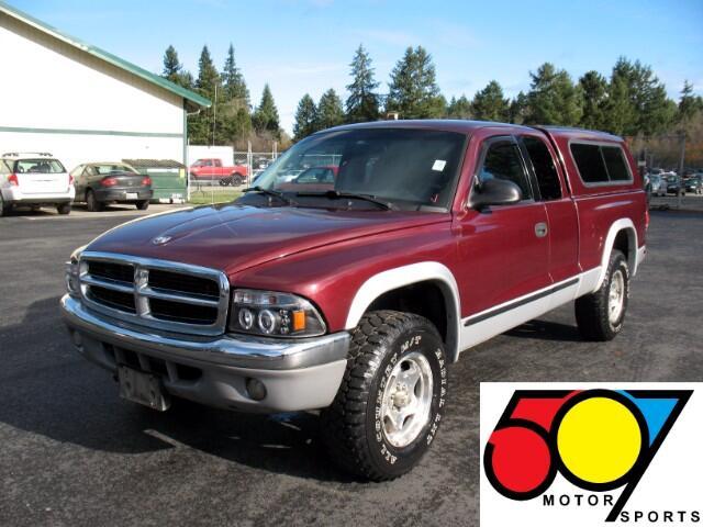 2001 Dodge Dakota Club Cab 4WD