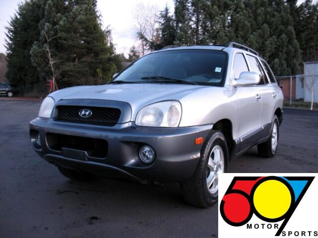 2004 Hyundai Santa Fe GLS 3.5L 4WD