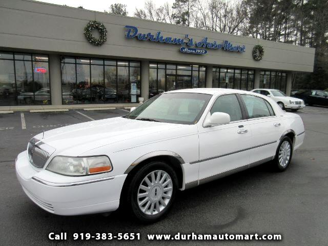 used 2005 lincoln town car signature for sale in durham nc 27705 durham 39 s auto mart. Black Bedroom Furniture Sets. Home Design Ideas