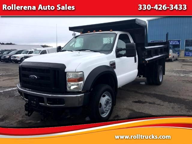 2008 Ford F-450 SD Regular Cab 2WD DRW Dump