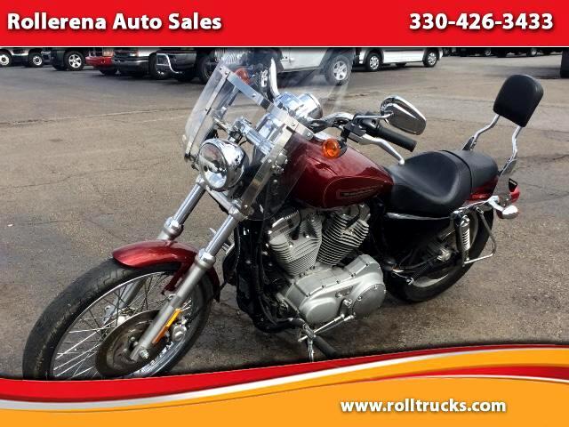 2009 Harley-Davidson XL883C Motorcycle
