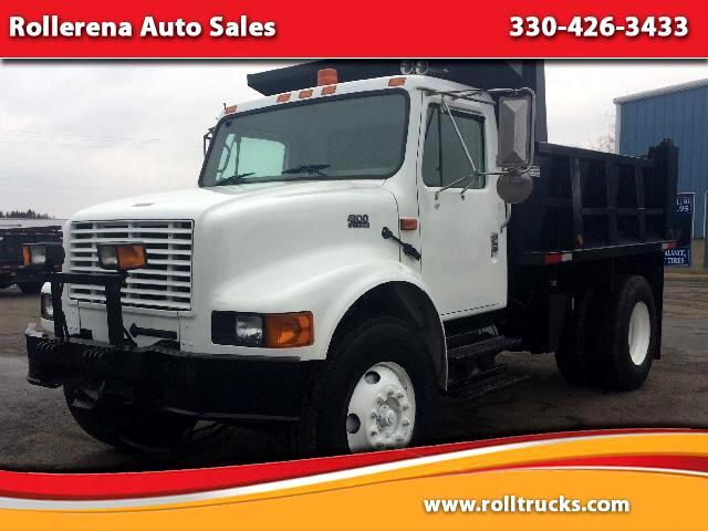 2002 International 4900 Dump Truck