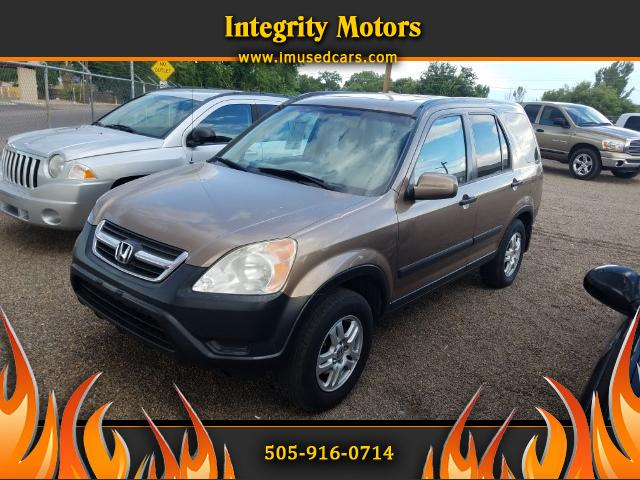 2003 Honda CR-V EX 4WD 5-spd Manual Transmission