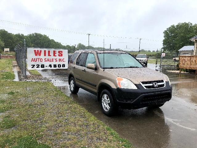 2003 Honda CR-V EX 4WD 4-spd AT