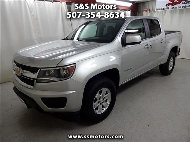 2017 Chevrolet Colorado Work Truck Crew Cab 4WD Long Box