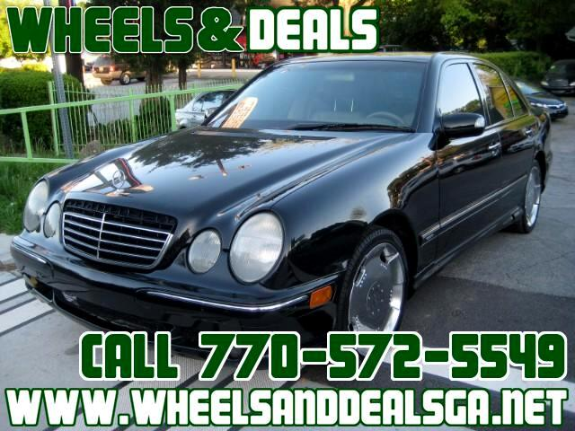 2001 Mercedes-Benz E350 Base