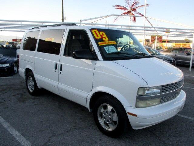 Used Cars in Las Vegas 2003 Chevrolet Astro