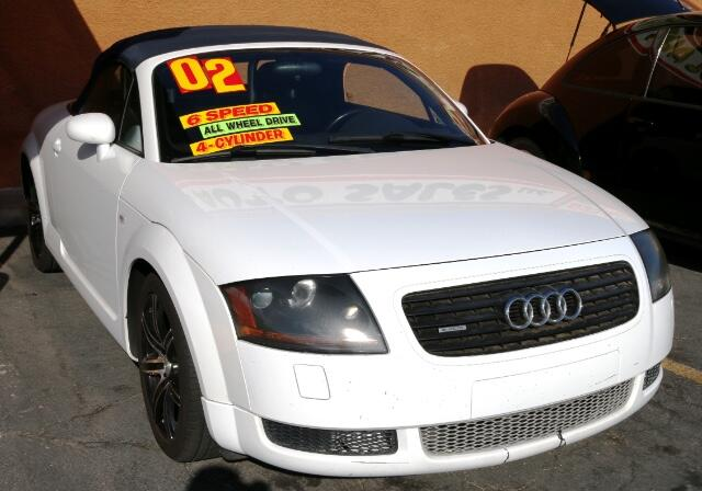 Used Cars in Las Vegas 2002 Audi TT